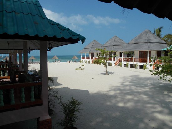 Nice Sea Resort: вид с террасы