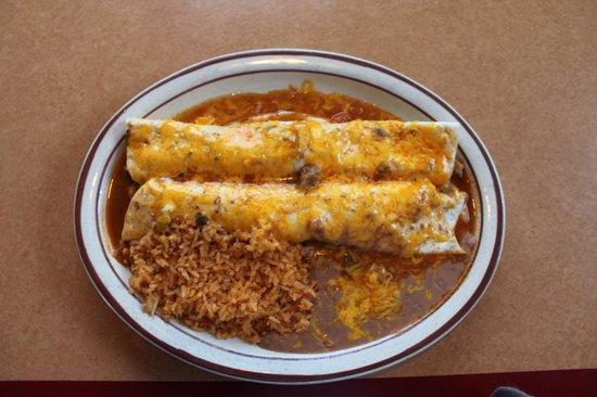 Fiesta Jalisco: Burritos colorados