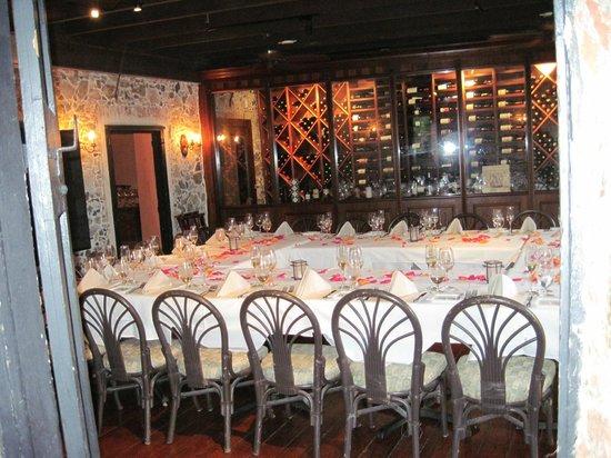 Old Stone Farmhouse: Wedding Room