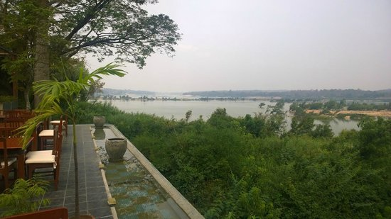 Tohsang Khongjiam Resort and Spa : View of Mekong