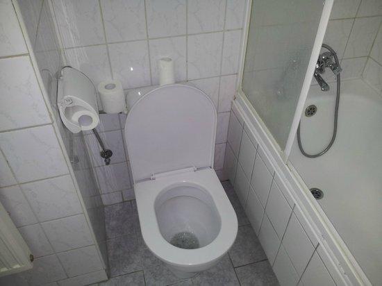 Olimpia Hotel: Łazienka