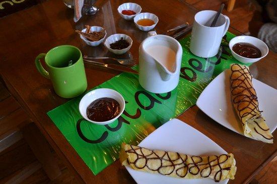 ChocoMuseo: кафе при музее шоколада Куско