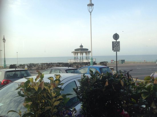 The Brighton Hotel: View from restaurant