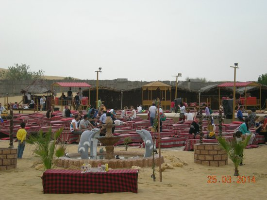 Desert Safari Dubai : camp