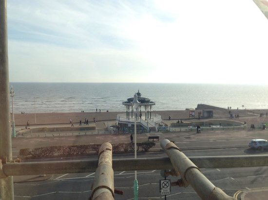 The Brighton Hotel: Seaview from room 211