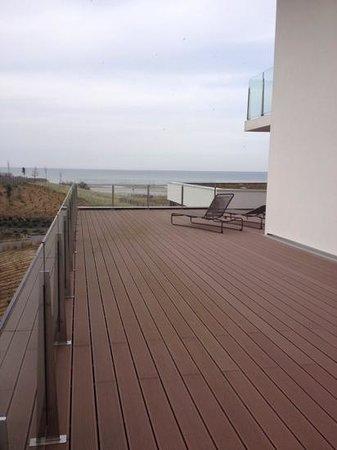 Hotel les bains de Cabourg: terrasse suite