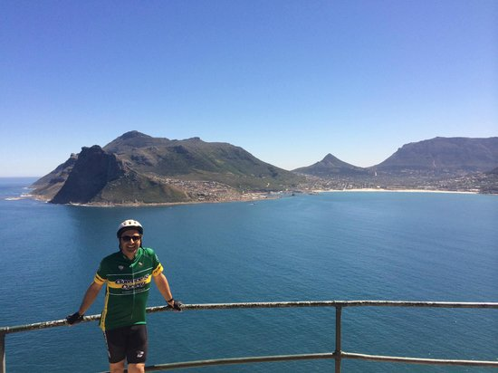 Cycle the Cape - Day Tour: One of many scenic stops along our ride out of Camp's Bay