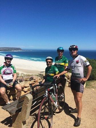Cycle the Cape - Day Tour: A stop to enyoy a few of the beach overlooking Monkey's Bay