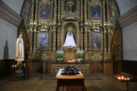 Templo de Santo Domingo: Inner altar