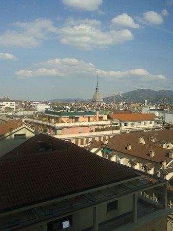 Hotel Principi di Piemonte : dalla camera