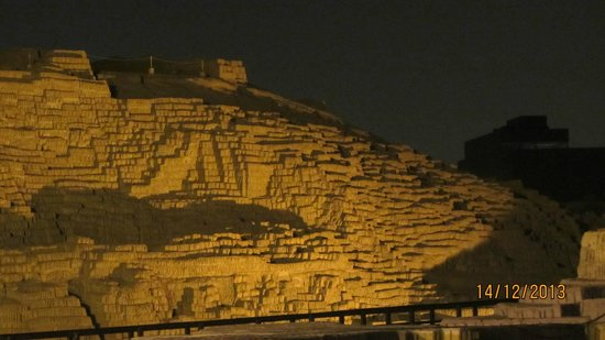 Huaca Pucllana: Another view from the restaurant