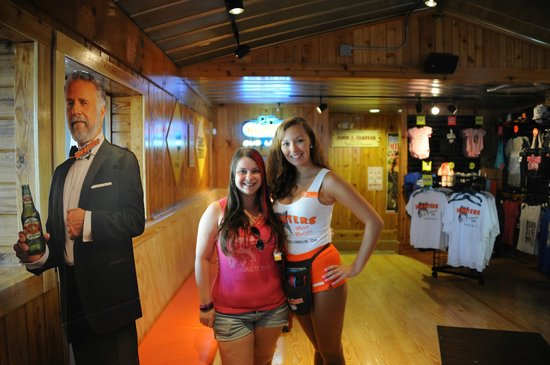 Me and a waitress at Hooters Of Knoxville  - Picture of Hooters