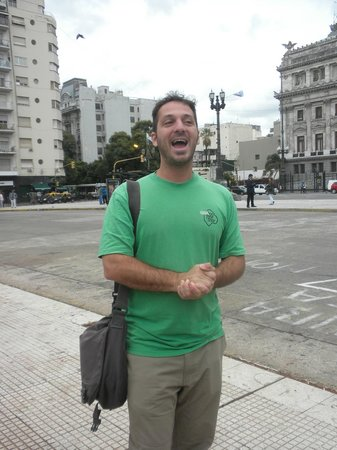 Buenos Aires Free Tour: Gaston, guide extraordinaire.