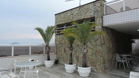 Atlantis Copacabana: Dach