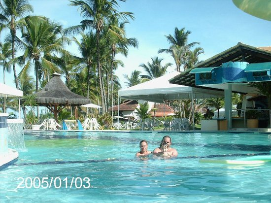Resort Tororomba : area da piscina