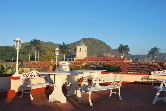 terrasse sur le toit picture of casa el balcon vinales tripadvisor. Black Bedroom Furniture Sets. Home Design Ideas