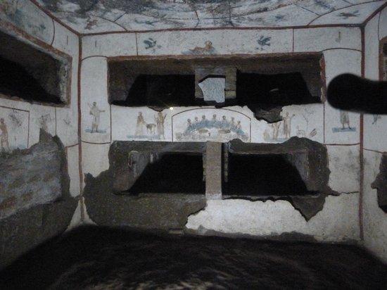 Catacombe di San Callisto: Murals