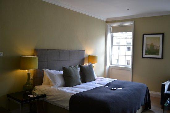 Queensberry Hotel: Deluxe room