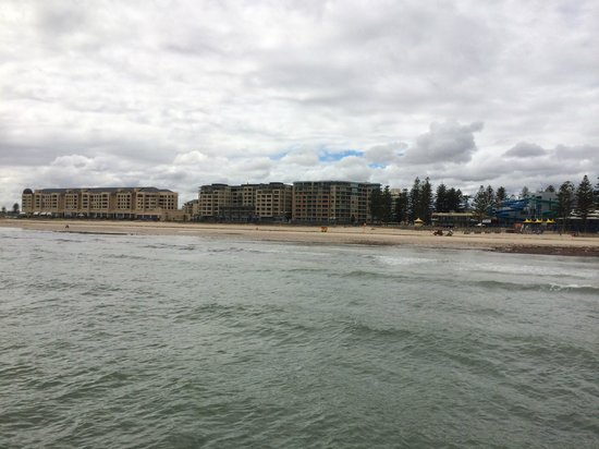 Glenelg Pier: View From The end