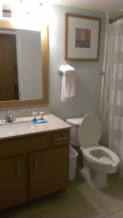 Hyatt House Dallas/Uptown: Full 3-piece bath