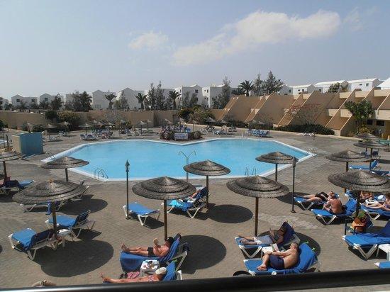 Hotel Coronas Playa : View from room 324