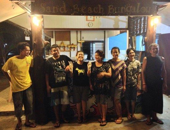 Sandbeach Bungalow: The team