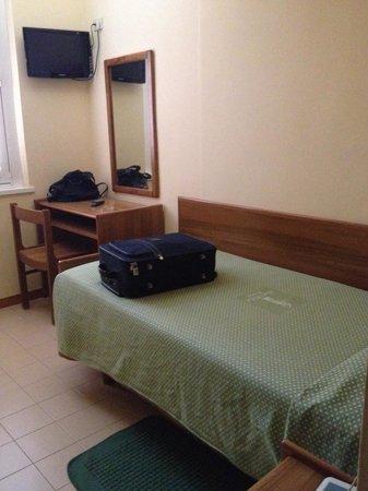 Igea Hotel: Camera singola dotata di tutto il necessario e pulita