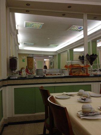 Igea Hotel: Buffet colazione