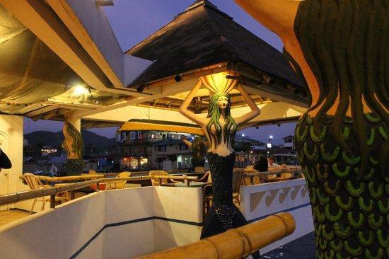 La Sirenetta Restaurant & Bar: night view