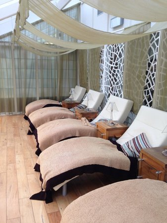 Lough Eske Castle, a Solis Hotel & Spa: Spa relaxation area