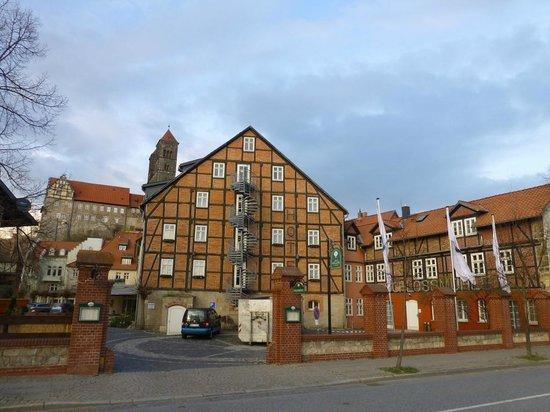 Best Western Hotel Schlossmühle: Schöner Fachwerk-Altbau