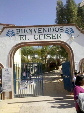 Balneario Spa El Geiser : Entrada principal