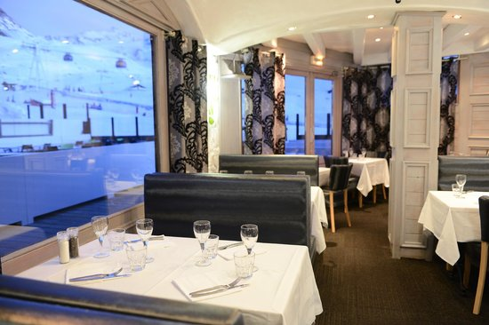 Restaurant Le Montana : Salle Montana