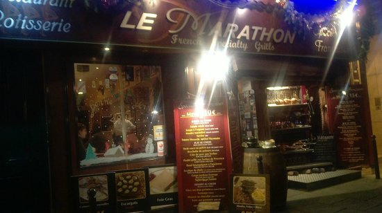Le Marathon : Frente