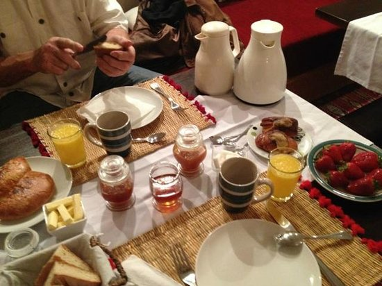 Riad Al Ralia : Petit déjeuner à 3h du matin