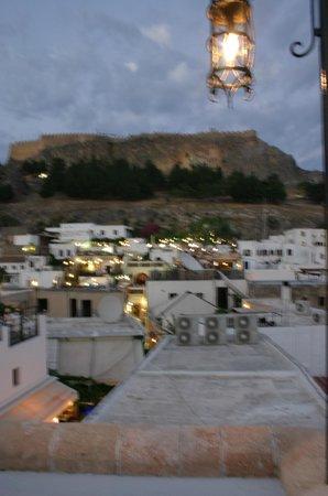 Odyssia Restaurant : Vue sur L'acropole