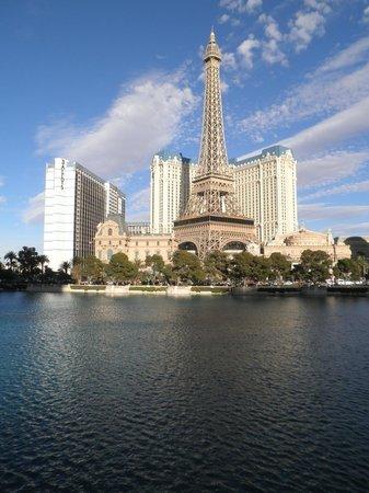 Eiffel Tower Experience at Paris Las Vegas : Vista de la torre
