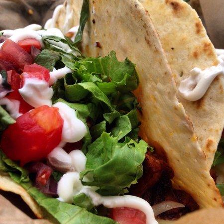 Zeke's Bayside Restaurant : Fish tacos. Best in Englewood!!