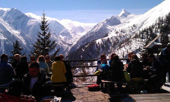 Alpengasthaus Glocknerblick: The view