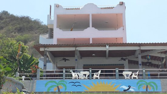 Villa de Los Suenos: View from ocean