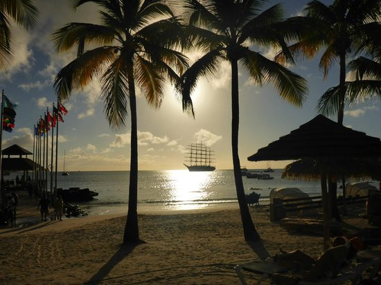 Sandals Grande St. Lucian Spa & Beach Resort: Sunset