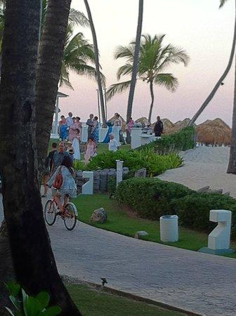 Paradisus Punta Cana Resort: Wedding at beach