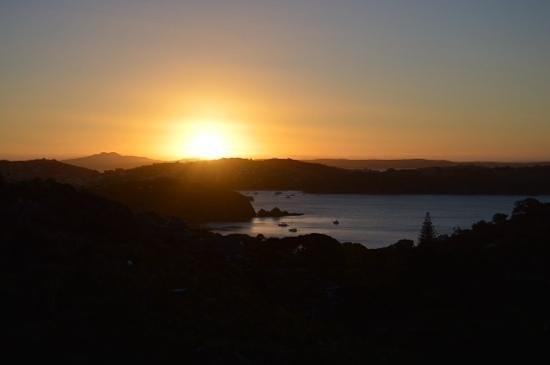 Enclosure Bay: Sunset
