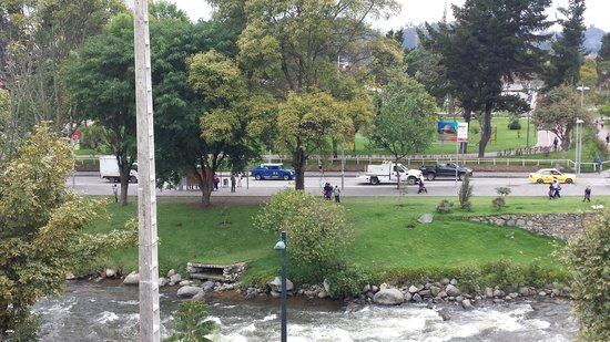 Riverview Hotel Cuenca : View from balcony