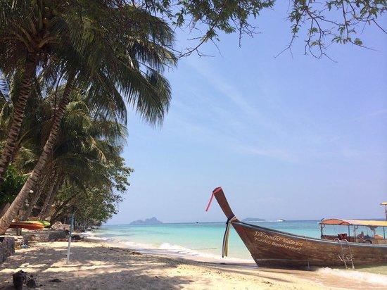 Tohko Beach Resort: beach