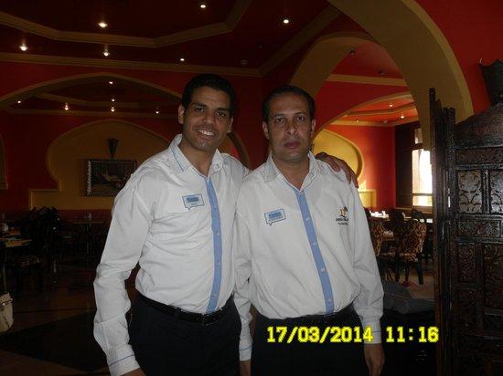 Domina Hotel & Resort Harem: отличные парни