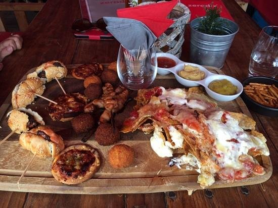 zerodix platter - great share for 2 or 3