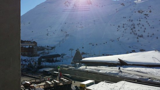 Langley Hotel Tignes 2100 : View from our room