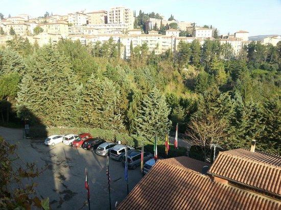 Ilgo Hotel: Veduta su Perugia.
