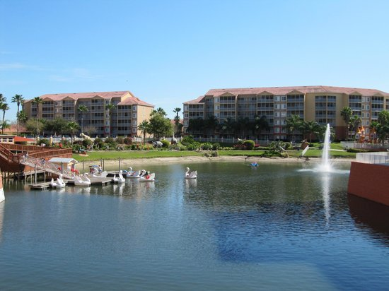 Westgate Town Center Resort & Spa: paddleboats